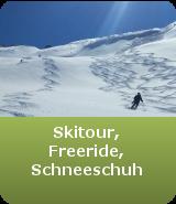 Skitouren, Schneeschuh