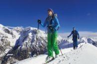 Naturverträglich Skitouren- und Schneeschuhgehen