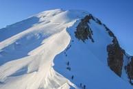 20080810 Montblanc oberhalb Vallot Biwak Kopie