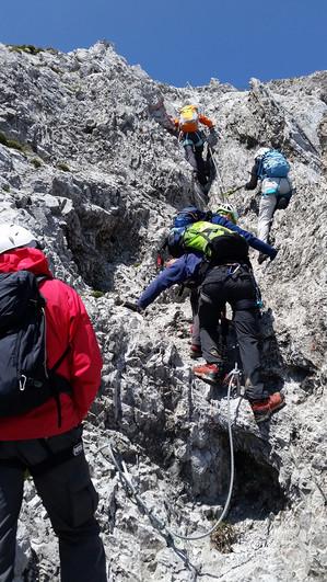5. Im Innsbrucker Klettersteig