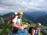 Gipfelglück am Hüttengrat