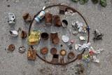 Müll vom Plattenjoch; Foto Sabine Gottwald