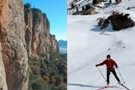 Klettern-Skaten