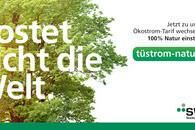 2021-08 Anzeige Ökostrom Kostet nicht 800x400