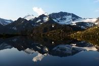 Mutterberger See mit Wilder Pfaff und Zuckerhütl-k