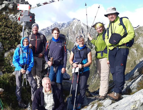 ber dem Rifugio Alpe Laghetto am Passo di Campo  (2)