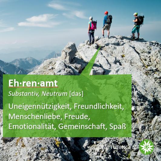 Definition Ehrenamt